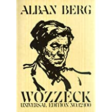 Wozzeck: Oper in 3 Akten. Studienpartitur