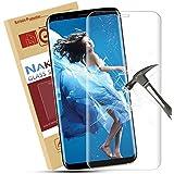 Samsung S8 Protection D'écran Nakeey Film de Protection Galaxy S8 [Couverture Complète]9H Transparent en TPU Protège d'écran pour Samsung Galaxy S8