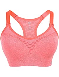 EOZY Femme Brassière Pour Sport Yoga Bretelle Réglable Crop Top Fitness