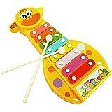 Sannysis® Kid 8-Note Desarrollo Sabiduría xilófono de juguete