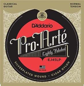 D'Addario Cordes composites pour guitare classique D'Addario Pro-Arte EJ45LP, Normal