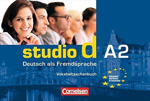 Studio D A2 Vokabeltaschenbuch by Hermann Funk (2006-02-09)