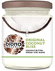 Biona Organic Coconut Bliss Coconut Butter, 250 g