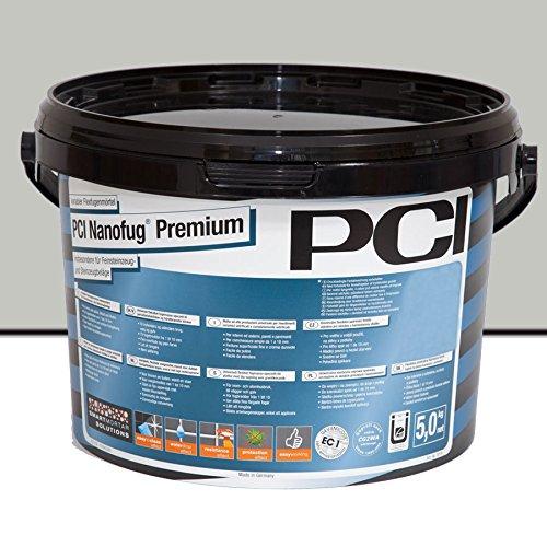 PCI Nanofug Premium Variabler Flexfugenmörtel 5 kg-21 hellgrau