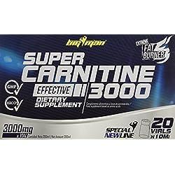 Big Man Nutrition Super Carnitine 3000 Quemagrasas Limón - 20 Unidades
