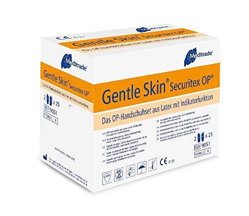 Meditrade 90517 Gentle Skin Securitex - Guantes látex