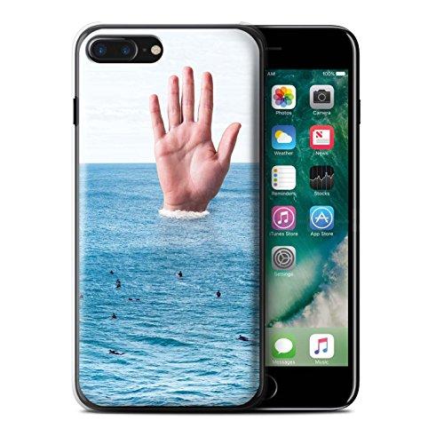 Stuff4 Hülle / Case für Apple iPhone 7 Plus / König Koala Muster / Unten Unter Kollektion Große Welle