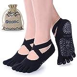 Best Yoga Socks - Ozaiic Yoga Socks for Women with Grips, Non-Slip Review