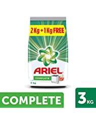 Ariel Complete Detergent Washing Powder - 2 kg with Free Detergent Powder - 1 kg