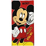 "Athom Trendz Disney Mickey Mouse Bath Towel 350 GSM 24""x48"""