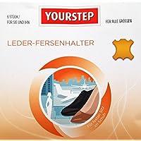 YOURSTEP Leder-Fersenhalter / Fersenschutz für den optimalen Halt im Schuh - 6 Stück für alle Größen - selbsthaftend... preisvergleich bei billige-tabletten.eu