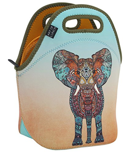 ef9b24d6ed6a Neoprene Lunch Bag by ART OF LUNCH - Large [12 x 12 x 6.5] Gourmet  Insulated Lunch Tote - A Partnership with Artists Around the World - Design  by ...