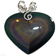 Obsidienne oeil céleste pour la protection