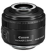 Canon EF-S 35 mm f/2.8 Macro IS STM - Objetivo para cámaras (Flash Macro...