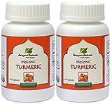 Narayani Naturals Organic Turmeric Capsules 200 capsules (650 mg each) - 100% Certified organic
