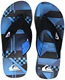 Quiksilver Boys' Molokai Layback Flip Flops, Black, 11.5 Child UK