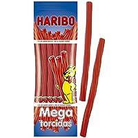 Haribo Mega Torcidas Fresa Geles Dulces - 200 g