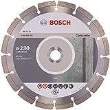BOSCH Diamanttrennscheibe Standard für Concrete, 230 x 22,23 x 2,3 x 10 mm, 1-er Pack, 2608602200
