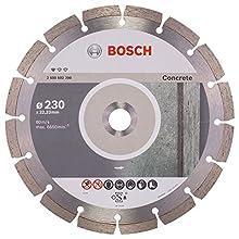 Bosch Professional 2608602200 Standard for Concrete Diamond Cutting disc, Silver/Grey, 230 mm