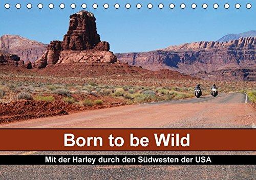 Born to be Wild - Mit der Harley durch den Südwesten der USA (Tischkalender 2018 DIN A5 quer): Die landschaftlichen Highlights des amerikanischen ... ... [Kalender] [Apr 01, 2017] Kärcher, Mike