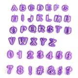 Kentop 40PCS X taglio fondente lettere stampi lettere pasticceria