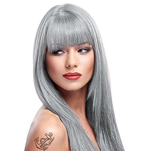 La Riche Directions Semi-Permanent Hair Colour Dye x2 Pack-Silver