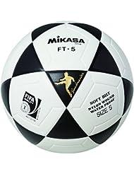 Mikasa Ft-5 Pro - Balón de fútbol, color negro y blanco