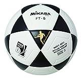 Mikasa Ball Ft-5 Pro Footvolley, Schwarz/Weiß, 5, 1301