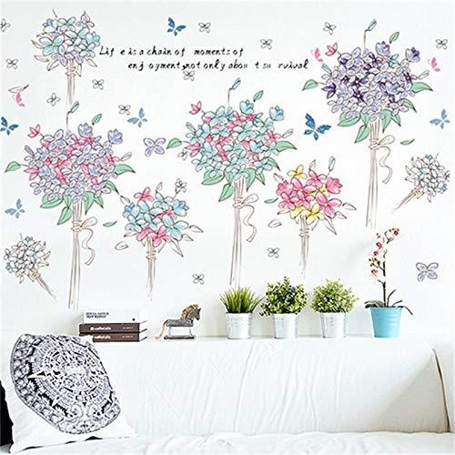 Große löwenzahn blume wandaufkleber dekoration wohnzimmer schlafzimmer möbelkunst aufkleber schmetterling wandbilder Wallpaper Poster