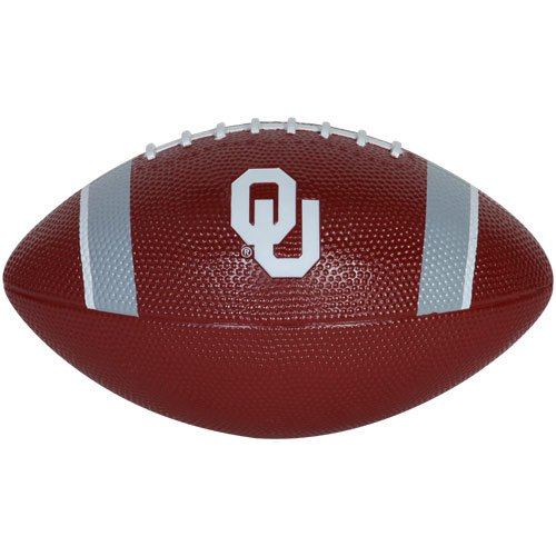 Nike NCAA Mini Rubber Football - Oklahoma Test