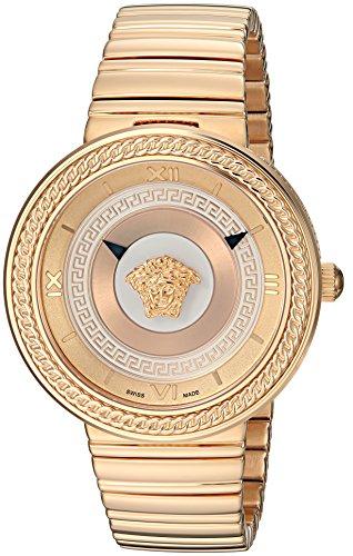Versace Damen Armbanduhr V-METAL ICON rosegold VLC100014