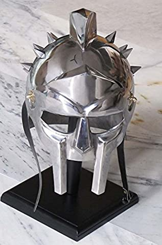 Medieval Gladiator Maximus Helmet Armor Gladiator Movie Helmet Replica