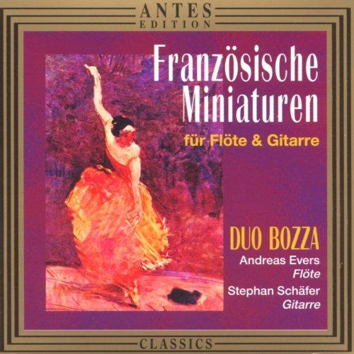 Franzoesische Miniaturen fuer Floete und Gitarre (Französisch Gitarre)