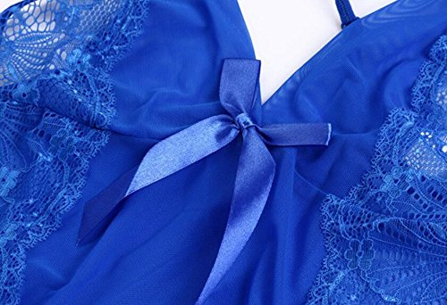 Pigiama Nightdress Lingerie Sexy Lingerie Prospettiva Tentazione Pigiami Sexy Intimo Set Biancheria Intima Adulto Regali Di Natale Red2