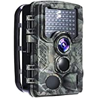 """Wildkamera, distianert 2018 Upgrade 16 MP 1080p Jagd & Game-Kamera mit 2,4"""" LCD-Display, 0,6 s Triggerzeit, 80 ft (24 m) 130 ° Erfassungsbereich und 47 IR-LEDs für Wildbeobachtung & Haussicherheit"""
