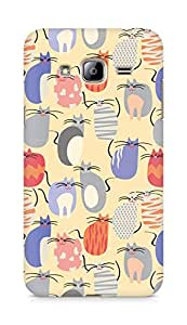 Amez designer printed 3d premium high quality back case cover for Samsung Galaxy J3 (2016 EDITION) (cute kitten )
