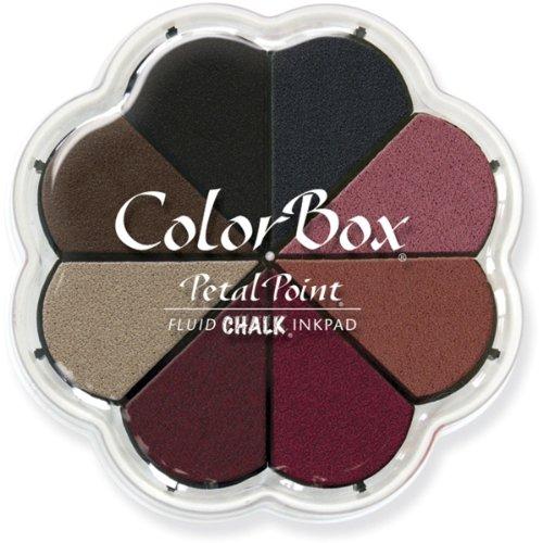 ColorBox Nightfall Fluid Kreide Petal Point Option Stempelkissen in 8Farben, Mehrfarbig -
