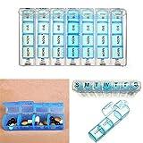 7 Tage Tgliche Pille Groe Box Medizin Tabletten Erinnerung Inhaber Dispenser Pillen