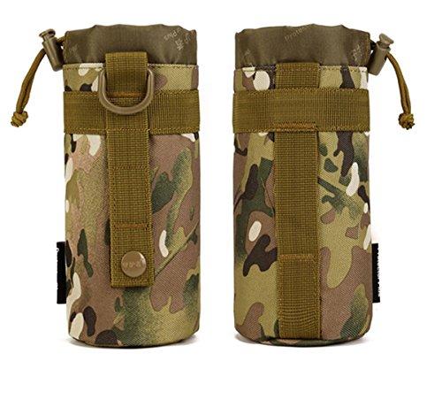 Protector Plus Il piccolo bollitore bag bollitore all'aperto impostato a vita appendente tattica bollitore allegato subcontract borsa , jungle cp camo