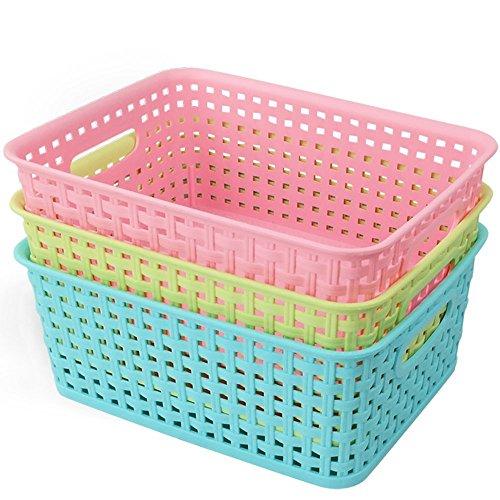 ackmond-plastik-korbe-mehrfarben-aufbewahrungskiste-3-pack-rosa-blau-grun