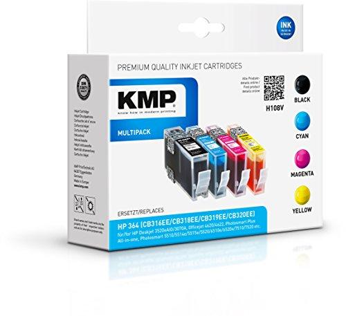 KMP Multipack für HP Photosmart C5380/C6380, H108V