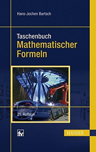 Taschenbuch mathematischer Formeln (Mediziner-formeln)