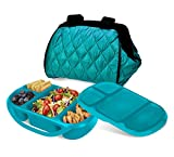 Best Smart Planet Lunch Boxes - Smart Planet Portion Perfect Puffer Bag Set, Turquoise Review