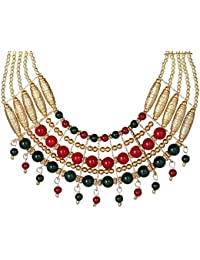 Muccasacra Classy Hot Selling New Arrival Beautiful Multicolour Pearl Necklace