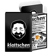 """'klattschen–Juego de beber–probablemente el mejor Juego de beber de todos los tiempos–Juego para fiestas–Parte para adultos–Beber cerveza y Idea de Regalo de cumpleaños–Similar a """"Kings Cup"""" o ring of Fire """""""