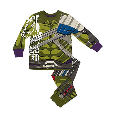 rvels Der unglaubliche Hulk- Hulk - Kostümpyjama für Kinder - Größe 5 - 6 Jahre ()