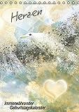 Herzen – Immerwährender Geburtstagskalender (Tischkalender immerwährend DIN A5 hoch): Fantasievolle Motive erinnern an wichtige Jahrestage ... [Kalender] [Jan 26, 2014] Viola, Melanie