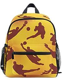 Preisvergleich für COOSUN Torwart Icons Mini Kinderrucksack Pre-School Kindergarten Kleinkind-Tasche Mehrfarbig