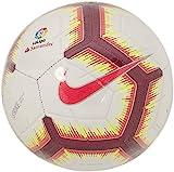 Nike Ll Nk Strk Fa18 Balón, Adultos Unisex, Blanco/Rosa (Flash) / Rojo (Team), S
