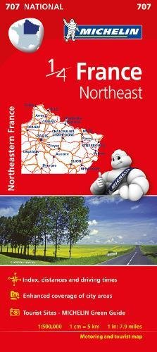 Mapa. France Northeast 11707 (15) (Mapas National Michelin)